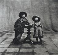 Irving Penn Cuzco Children, Peru, 1948
