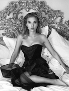 Scarlett Johansson, 2006, 24 x 20 Selenium Toned Silver Gelatin Photograph, Ed. 8