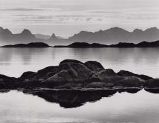 Layers, Lofoten Islands, 2000, 22 x 28 Inches, Silver Gelatin Photograph