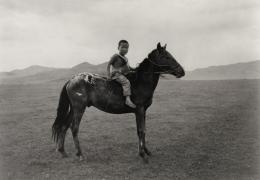 """Mongolian Warrior"", Mongolia, 1995, 11-3/16 x 16-7/8 Archival Pigment Print, Ed. 200"