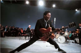 Chuck Berry on stage, USA, October 1964, C-Print