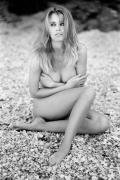 Claudia, St. Barthelemy, 1991, 20 x 16 Selenium Toned Silver Gelatin Photograph, Ed. 20