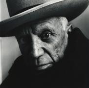 Pablo Picasso (B), at La Californie, Cannes, 1957, Siler Gelatin Photograph, Ed. of 21