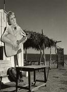 Beach Cafe, Glyphada, 1939, 40cm x 30cm Silver Gelatin Photograph