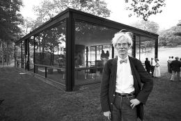 Andy Warhol, Glass House, New Canaan, Connecticut, 1981