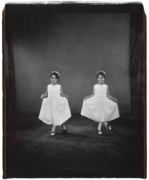 Jessica and Kelsey Anderson, 8 years old, Kelsey older by 10 minutes, Twinburg, Ohio, 2001