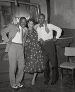 Beale Street nightclub customers (I), ca. 1950's, Archival Pigment Print