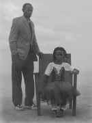 Sofia and father Mohammed, Zimbabwe, 2020