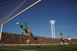 Brazil vs Austria, FIFA World Cup,1978, Color Photograph