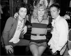Johnny Thunders, Sable Starr & Iggy Pop, 1977