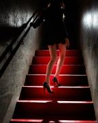 Girl on the Red Steps, 2012, 24 x 20 Digital C-Print, Ed. 15