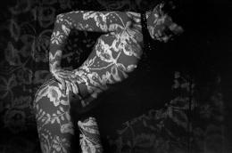 Stripper (Lili Niagara) at Crazy Horse Saloon, Paris, France, 1962