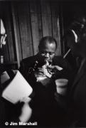 Louis Armstrong, 1963, 14 x 11 Silver Gelatin Photograph