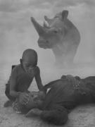 James, Peter and Najin, Kenya, 2020