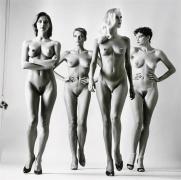 Helmut Newton Sie Kommen (Naked), French Vogue, Paris, 1981