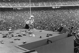 Mick Jagger, Los Angeles, CA, 1975, Silver Gelatin Photograph