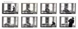 The Fallen Angel, 1968, (8) 5 x 7 Silver Gelatin Photographs, Ed. 25