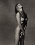 Elle, 1990, 24 x 20 Sepia Toned Silver Gelatin Photograph, Ed. 20