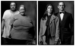 Indigent Couple / Wealthy Couple, 2004 / 2004, 20 x 32-1/2 Diptych, Archival Pigment Print, Ed. 20