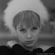 Sylvie Vartan, Meribel, February 1963, C-Print