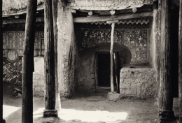 """""""Pillars"""", Zanskar, 1983, 11-1/16 x 16-11/16 Platinum Photograph, Ed. 25"""