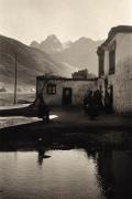 """Human Realm"", Zanskar, 1988, 16-5/8 x 11-1/16 Platinum Photograph, Ed. 25"