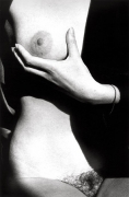 Untitled (Woman Holding Her Breast), 14 x 11 Silver Gelatin Photograph, Ed. 25