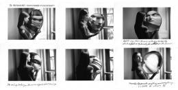 Dr. Heisenberg's Magic Mirror of Uncertainty, 1998, (6) 5 x 7 Silver Gelatin Photographs, Ed. 25
