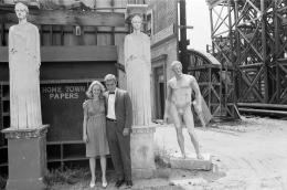 Sandy Dennis and George Segal, 1965