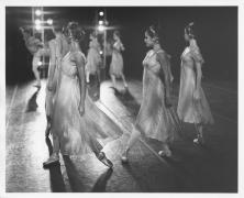 Ballet Dancers, Saratoga, NY, 1998 (17854-147-7), Silver Gelatin Photograph