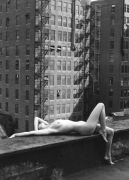 Nude, New York, 1975, 24 x 20 Platinum Print Mounted on Aluminum, Ed. 20