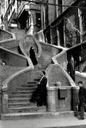 Turkey (steps), 1965, 11 x 14 Silver Gelatin Photograph