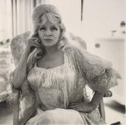 Diane Arbus Mae West in a chair at home, Santa Monica, CA., 1965