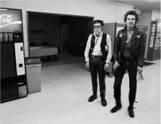 Johnny Rotten & Sid Vicious, US Tour, 1978
