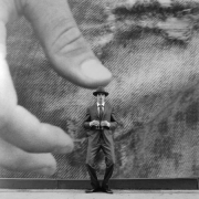 Collin under Thumb, New York, New York, 2005, Archive Number: HSI-0705-010-07, 16 x 20 Silver Gelatin Photograph
