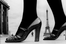 Shoes and Eiffel Tower, for Stern Magazine, Paris, France (a), 1974
