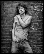 Mick Jagger, New York, NY, 2005, 20 x 16 inches, Silver Gelatin Photograph, Ed. of 25