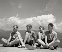 Summer Day at the Lake, German, 1935, Silver Gelatin Photograph