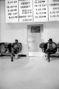 Bus Station, St. Louis, 1969, Silver Gelatin Photograph