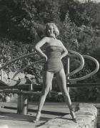 Marilyn Monroe (Poolside in Bathing Suit), n.d. Silver Gelatin Photograph, 14 x 11 Silver Gelatin Photograph
