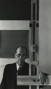 Piet Mondrian, New York City, 1942, Silver Gelatin Photograph