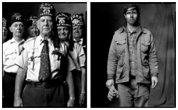 Shriners / Loner, 2004 / 2003, 20 x 32-1/2 Diptych, Archival Pigment Print, Ed. 20