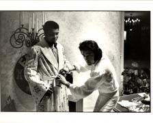 Muhammed Ali and Elvis Presley, c. 1970, 11 x 14 Silver Gelatin Photograph