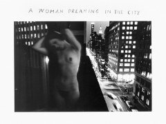 A Woman Dreaming in the City, 1968, 8 x 10 Silver Gelatin Photograph, Ed. 25