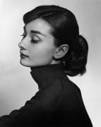 Audrey Hepburn, 1956, 20 x 16 Silver Gelatin Photograph