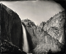 Yosemite Falls, Unique Collodion Wet Plate: please contact the gallery for details