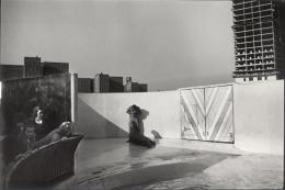 Aquarium at Coney Island (Man Photographing Seal), New York, 1964, 11 x 14 Silver Gelatin Photograph