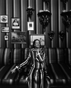 Diana Vreeland, 1974, Vintage Silver Gelatin Photograph Mounted to Board