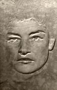 Portrait of a Poet (Juliet), 1954, 5-1/2 x 3-1/2 Solarized Silver Gelatin Photograph