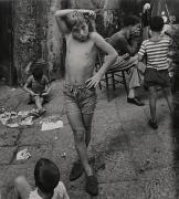 Gennaro Barattolo, Naples, 1961, 9-1/8 x 8-3/16 Vintage Silver Gelatin Photograph